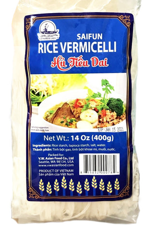 Duy Anh Rice Vermicelli Hu Tieu Dai, 14 oz (30-Count)
