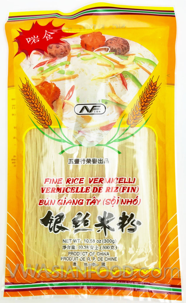 Ng Fung Fine Rice Vermicelli (Jiangxi Lai Fen), 10.5 oz (60-Count)