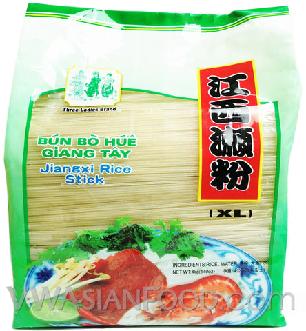 Three Ladies Jiangxi Rice Stick XL, 8.8-Pound Bags (6-Count)