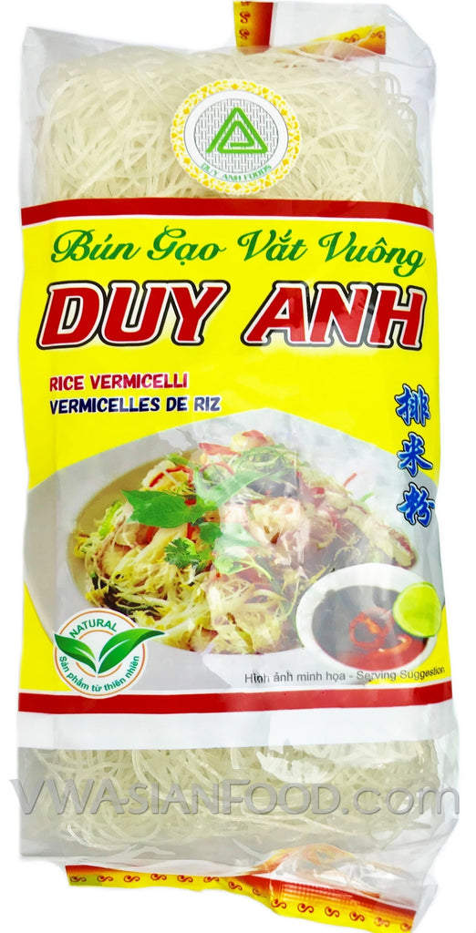 Duy Anh Rice Vermicelli Square (Bun Gao Vat Vuong), 14 oz (30-Count)