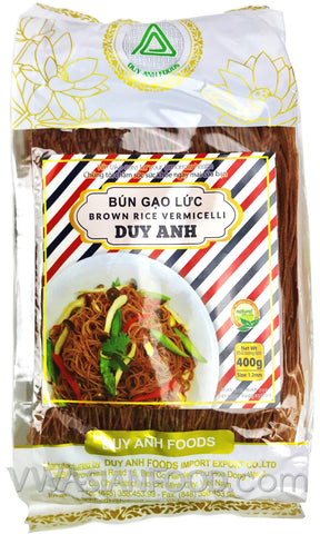 Duy Anh Brown Rice Vermicelli (Bun Gao Luc), 14 oz (30-Count)