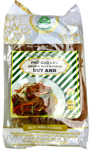 Duy Anh Brown Pho Rice Noodle (Pho Gao Luc), 14 oz (30-Count)