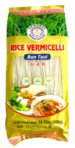 Golden Anchor Rice Vermicelli 1.2MM (Bún Tươi) 14 oz (30-Count)