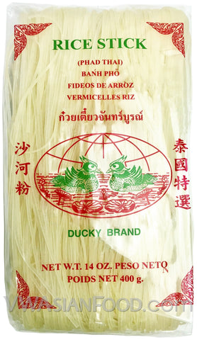 Ducky Rice Stick (Thin 1mm), 14 oz (30-Count)