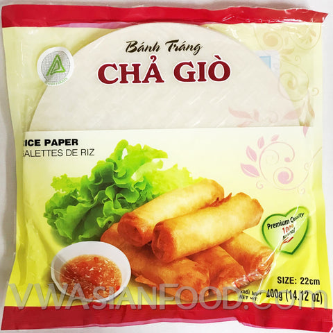 Duy Anh Rice Paper Fry Banh Trang Cha Gio (Bag-22cm), 14 oz (40-Count)