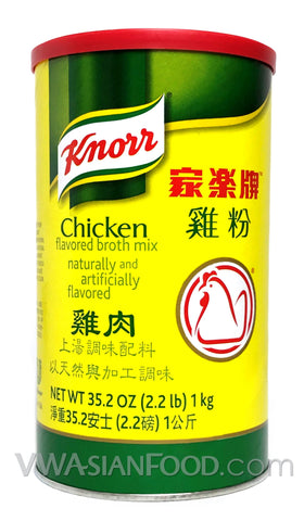 Knorr Chicken Flavored Broth Mix, 2.2-Pound Can (12-Count)