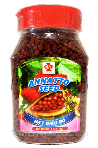 First World Annatto Seed (Hot Dieu Mau), 6 oz (24-Count)