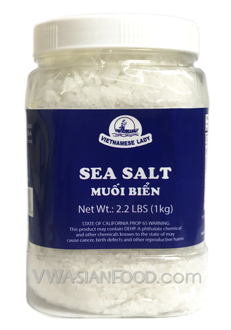 Vietnamese Lady Sea Salt, 2.2lbs (12-Count)