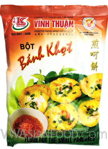 Vinh Thuan Flour for Small Pancakes (Bot Banh Khot), 14.1 oz (20-Count)