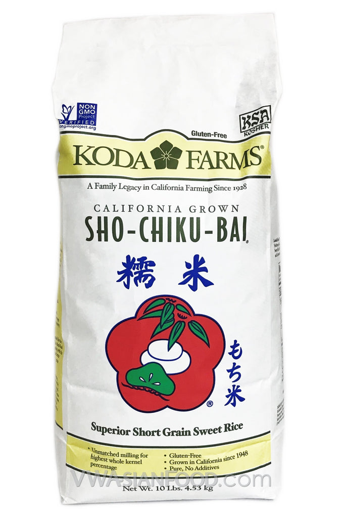 Koda Farms Sweet Rice, 6-10-Pound Bags