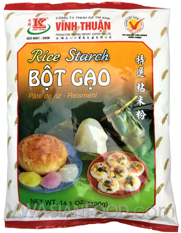 Vinh Thuan Rice Starch (Bot Gao), 14 oz (20-Count)