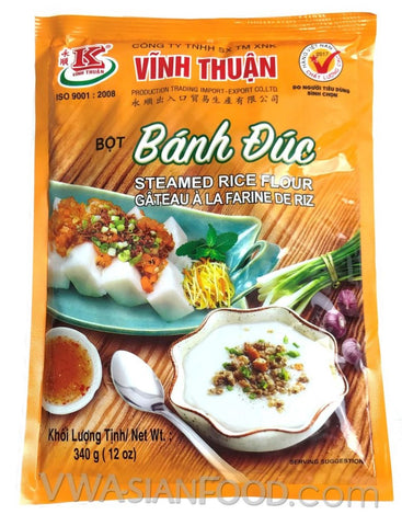 Vinh Thuan Steamed Rice Flour (Bot Banh Duc), 12 oz (30-Count)