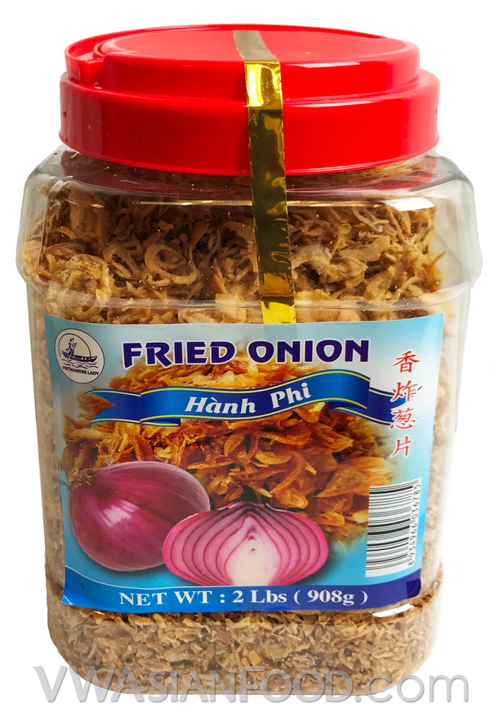 Vietnamese Lady Fried Red Onion, 2 lb (12-Count)