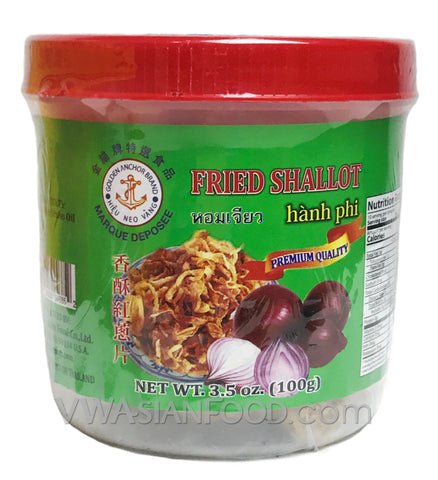 Golden Anchor Fried Shallot 3.5 oz (24-Count)