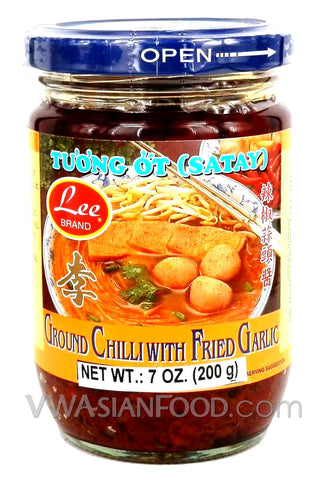 Lee Ground Chili with Fried Garlic, 7 oz (24-Count)