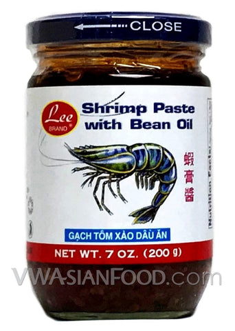 Lee Shrimp Paste with Bean Oil, 7 oz (24-Count)