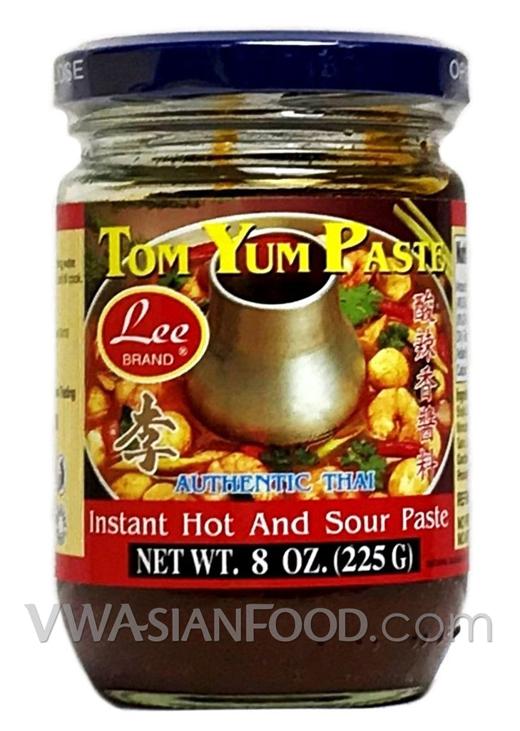 Lee Tom Yum Hot & Sour Paste, 8 oz (24-Count)