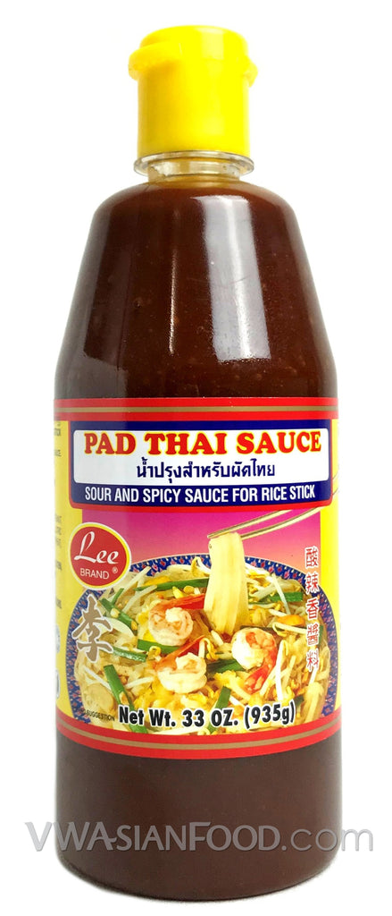 Lee Pad Thai Sauce, 33 oz (12-Count)