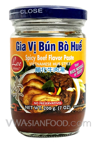 Lee Spicy Beef Flavor Paste, 7 oz (24-Count)