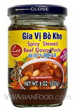 Lee Spicy Stewed Beef Paste, 8 oz (24-Count)