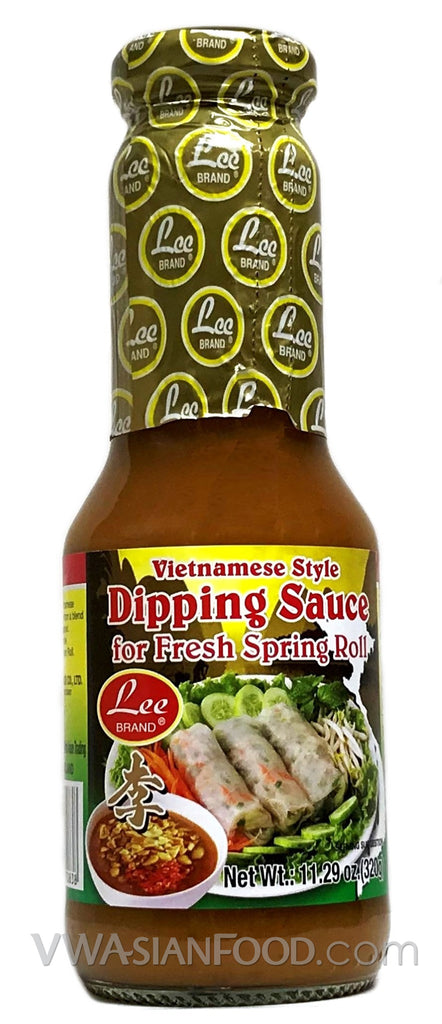 Lee Vietnamese Dipping Sauce for Fresh Spring Roll, 11.29 oz (24-Count)