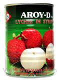 Aroy-D Lychee in Syrup, 20 oz (24-Count)