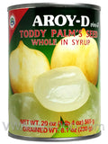 Aroy-D Toddy Palm's Seed Whole in Syrup, 20 oz (24-Count)