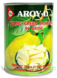 Aroy-D Young Green Jackfruit in Brine, 20 oz (24-Count)
