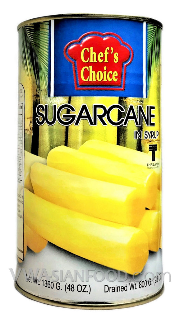 Chef's Choice Sugar Cane in Syrup, 48 oz (12-Count)