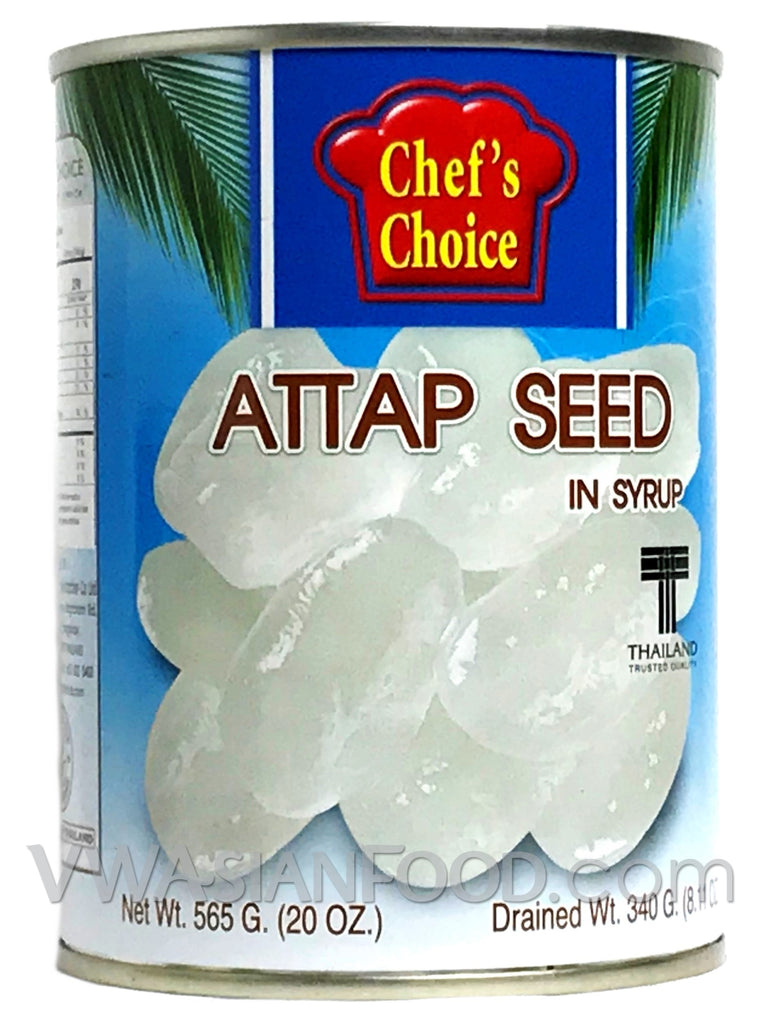 Chef's Choice Attap Seed in Syrup, 20 oz (24-Count)