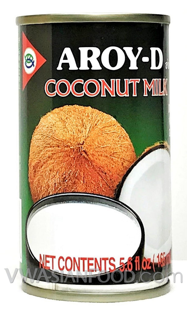 Aroy-D Coconut Milk Small, 5.6 oz (48-Count)