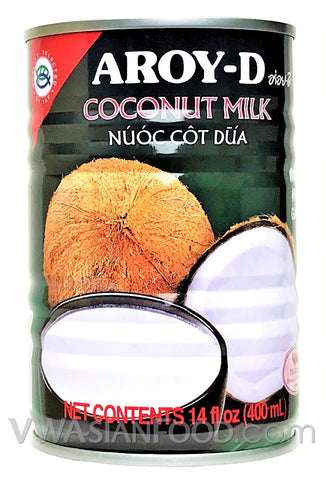 Aroy-D Coconut Milk, 14 oz (24-Count)