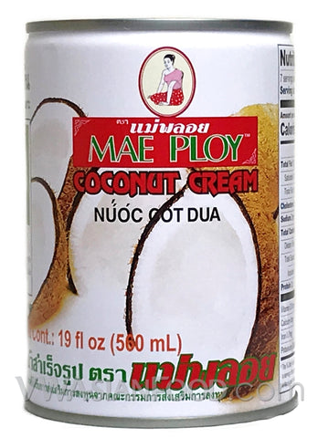 Mae Ploy Coconut Milk, 19 oz (24-Count)