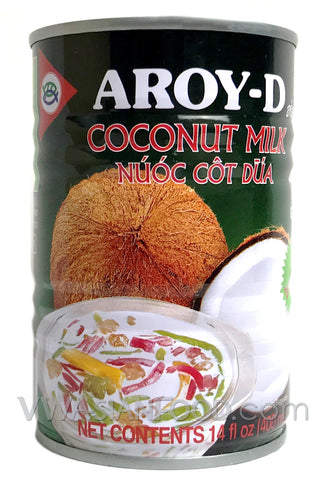 Aroy-D Coconut Milk Dessert, 14 oz (24-Count)