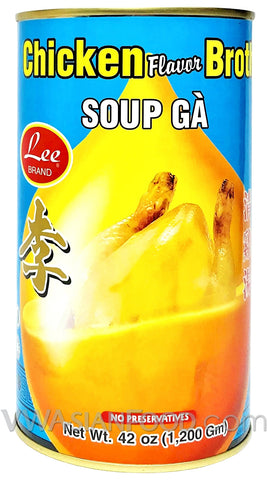 Lee Chicken Broth (Soup Ga), 42 oz (12-Count)