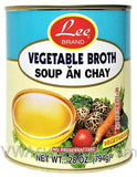 Lee Vegetable Broth (Soup An Chay), 28 oz (24-Count)