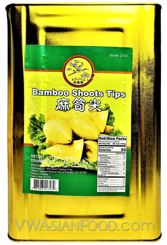 Asuka Bamboo Shoot (Short Tips), 44-Pounds (1-Count)
