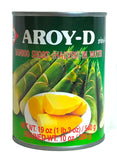 Aroy-D Bamboo Shoot Halves in Water, 20 oz (24-Count)