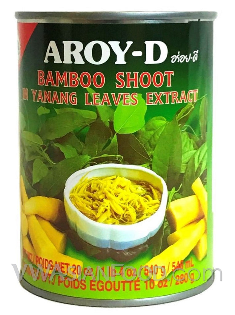 Aroy-D Bamboo Shoot in Yanang Leaves Extract, 19 oz (24-Count)