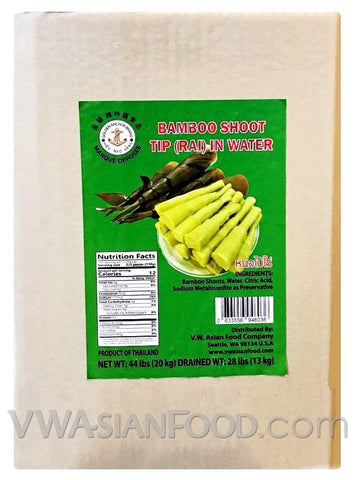 Golden Anchor Bamboo Shoot Tip (RAI) in Water, 44-Pounds (1-Count)