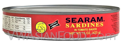 Searam Sardines, 15 oz (24-Count)