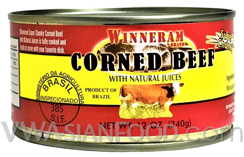 Winneram Corned Beef, 12 oz (12-Count)