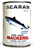 Searam Mackerel in Brine, 15 oz (24-Count)