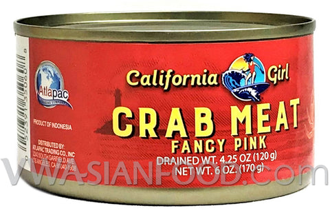 California Girl Crab Meat, 6 oz (12-Count)