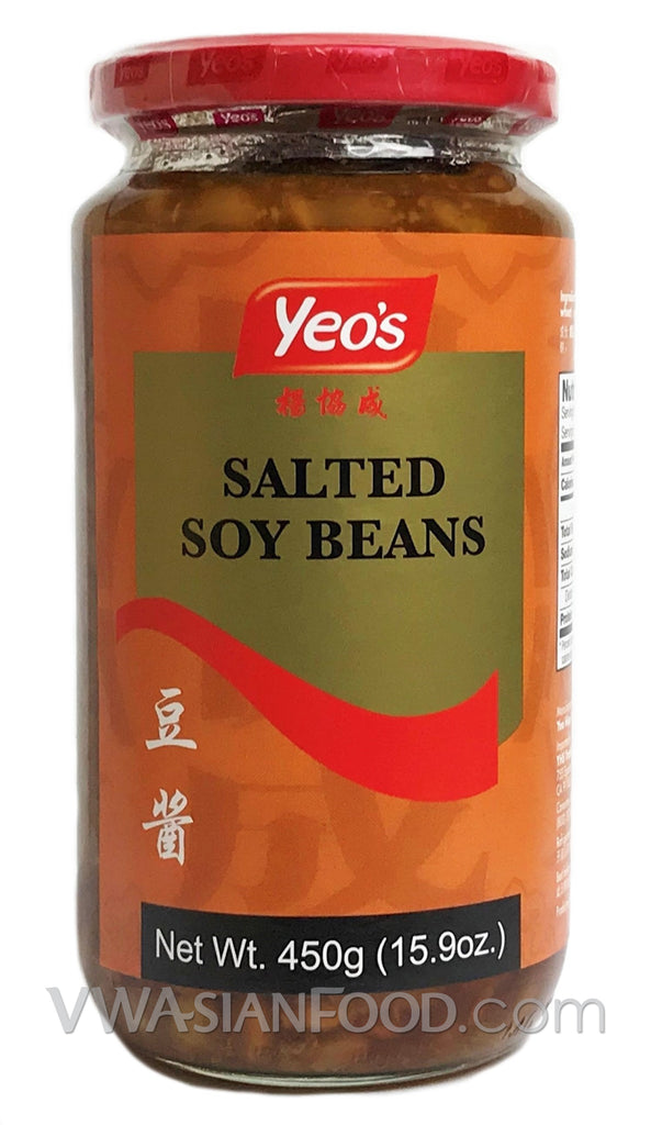 Yeo's Salted Soy Beans, 15.9 oz (24-Count)