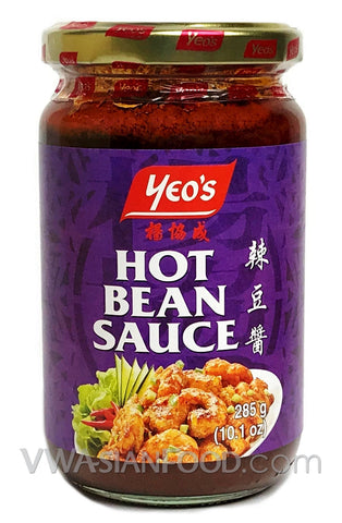 Yeo's Hot Bean Sauce, 10.1 oz (24-Count)