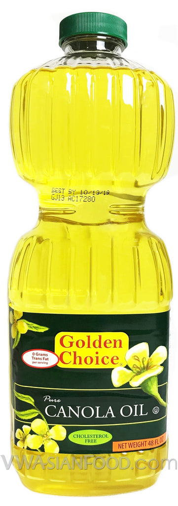 Golden Choice Pure Canola Olive Oil, 48 oz (9-Count)