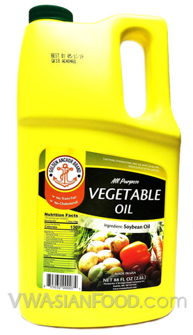 Golden Anchor Vegetable Oil, 88 oz (8-Count)
