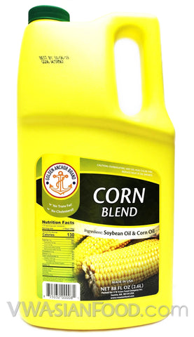 Golden Anchor Corn Oil Blend, 88 oz (8-Count)