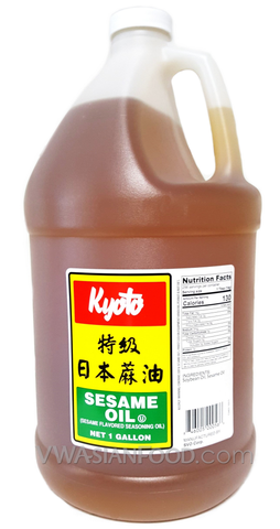 Kyoto Oil Sesame Blend 1gal (4-Count)